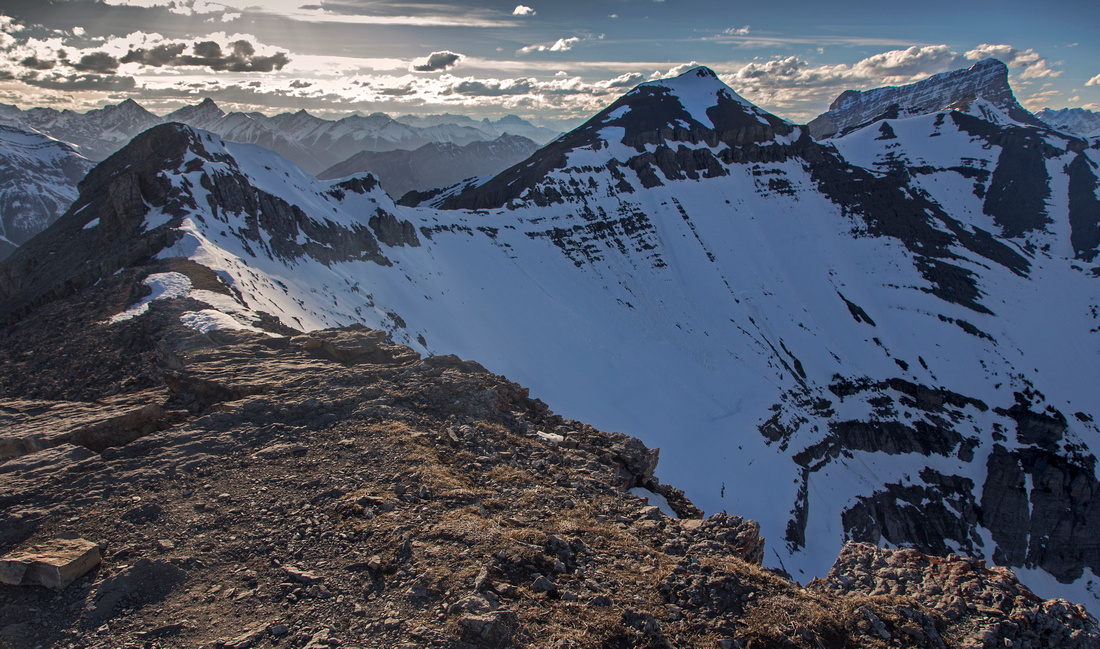 Rundle Ridge from EEOR