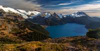 Garibaldi Lake from Panorama Ridge