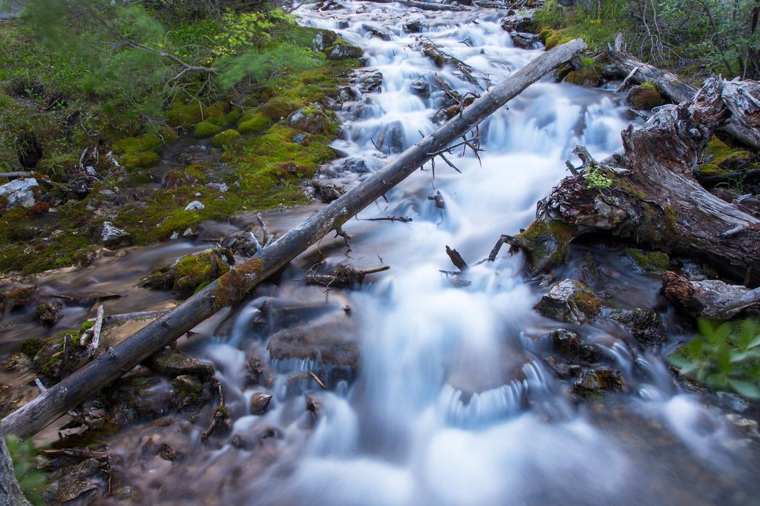 Grassi Lakes creek